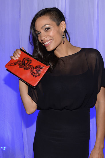 Rosario Dawson Debuts a Dramatic New 'Do!