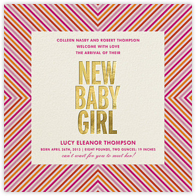 New Baby Girl by Kate Spade New York