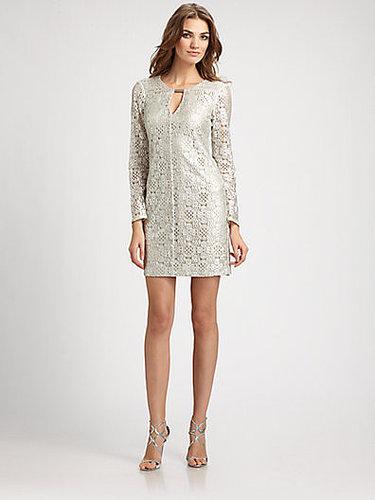 Trina Turk Lace Keyhole Dress