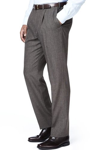 Crease Resistant Single Pleat Lightweight Trousers