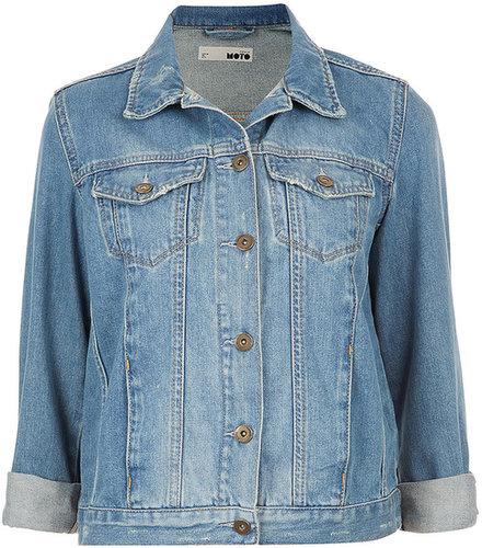MOTO Vintage Denim Jacket