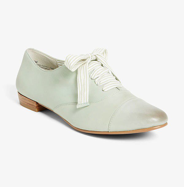 These BP Nordstrom Sidney oxfords ($70) come in a great shade of pale green, which means they'll go with practically everything in your Summer wardrobe.