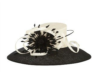 Pearl Noir Occasion Hat
