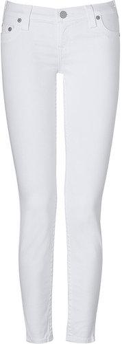 True Religion Optic White Super Skinny Casey Jeans