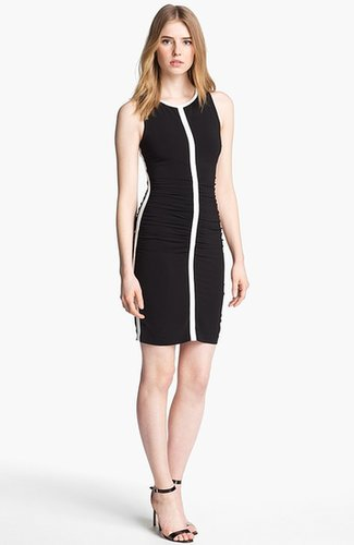 Tracy Reese Crisscross Back Ruched Dress