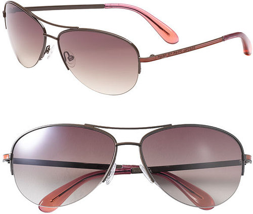 MARC BY MARC JACOBS 59mm Rimless Aviator Sunglasses