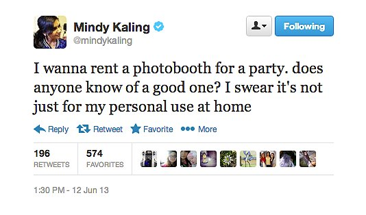 Listen, Mindy Kaling is really serious about taking good selfies.