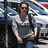 Kristen Stewart Wearing USA Track and Field Shirt