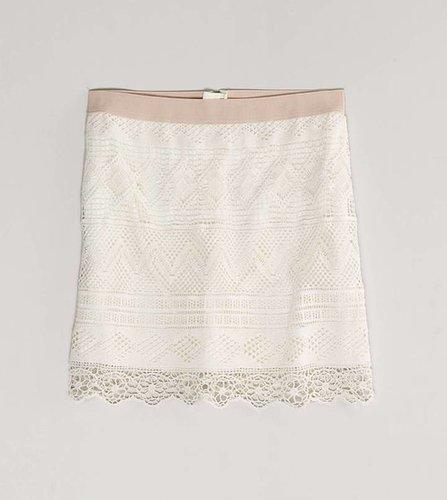 AE Crocheted Miniskirt