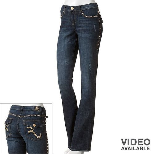 Rock & republic embellished bootcut jeans