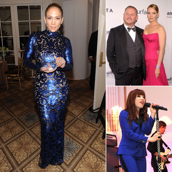 All the Glamorous People at the amfAR Inspiration Gala in NYC