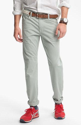 AG Jeans 'Protege SUD' Straight Leg Twill Pants