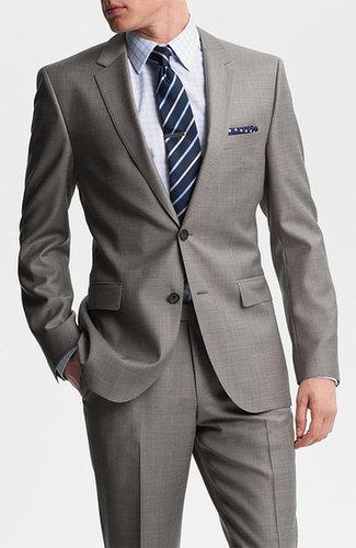 BOSS Black 'James/Sharp' Trim Fit Wool Suit