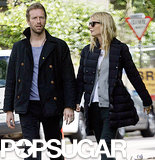 Gwyneth Paltrow spent time with her husband, Chris Martin, in London.