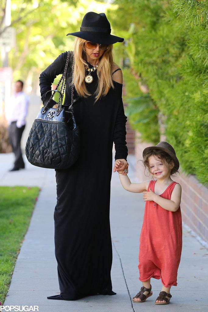 Rachel Zoe and Skyler Berman went for a walk in Beverly Hills.