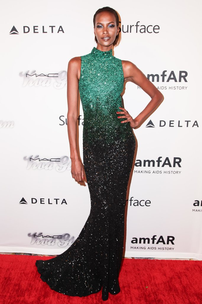 Yasmin Warsame at the 2013 amfAR Inspiration Gala. Source: Matteo Prandoni/BFAnyc.com