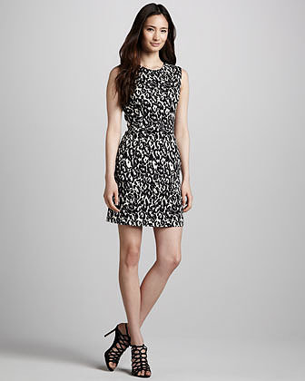 Milly Coco Printed Dress