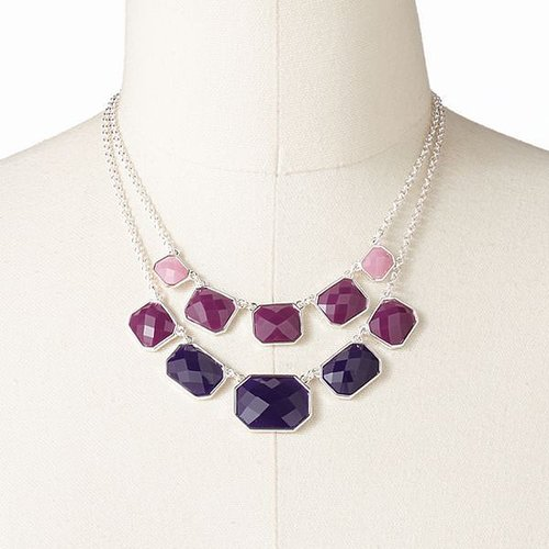 Croft and barrow multistrand bib necklace