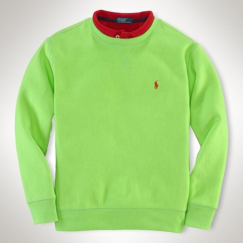 Long-Sleeved Crewneck Pullover