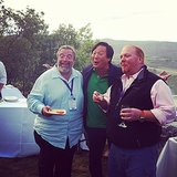 How great is this pic of Mario Batali, Ming Tsai, and Drew Nieporent hanging out at the festival?  Source: Instagram user foodandwinemag