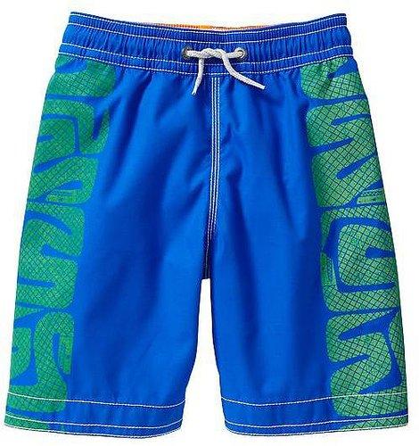 Tribal swim trunks