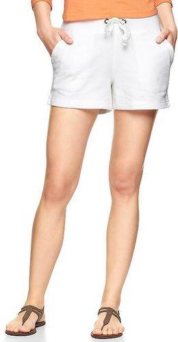 Terry drawstring shorts