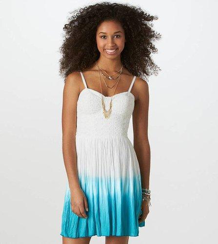 AE Dip-Dyed Corset Dress