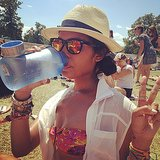 The first rule of Bonnaroo: you have to stay hydrated! Source: Instagram user brittsteps