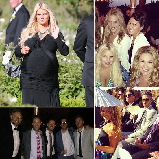 Jessica Simpson Spends a Wedding Weekend With Famous Friends