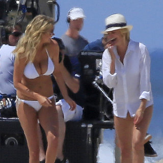 Kate Upton in a Bikini With Cameron Diaz Pictures