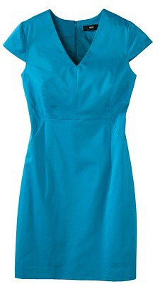Mossimo® Women's V-Neck Cap Sleeve Dress - Assorted Colors