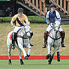 Prince Harry and Prince William Playing Polo Pictures