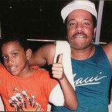 Ludacris honored his late father with this photo from when he was a little one. Source: Instagram user ludacris