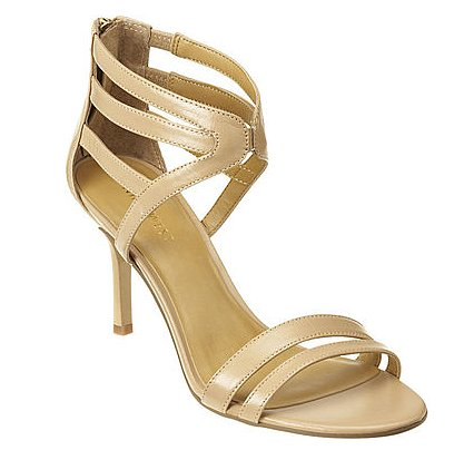These Nine West Geezlouis sandals ($89) are perfect for the gal who doesn't want to spend a fortune on bridesmaid shoes. Plus, the ankle-strap detail gives them a unique look.