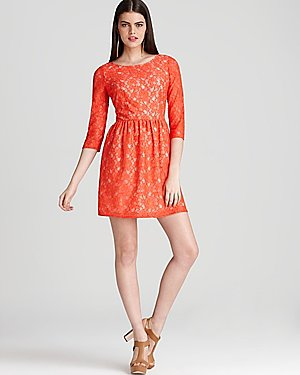 French Connection Lace Dress - Lizzie