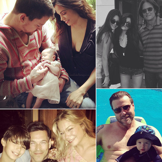 See How the Stars Celebrated Father's Day