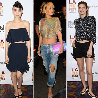 Rihanna Rooney Mara Crop Top Pictures