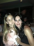 Courteney Cox celebrated her birthday with her daughter Coco in LA. Source: Twitter user CourteneyCox
