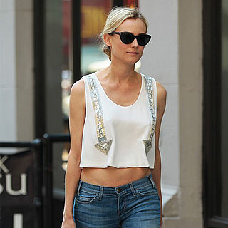 Diane Kruger Wearing a Crop Top