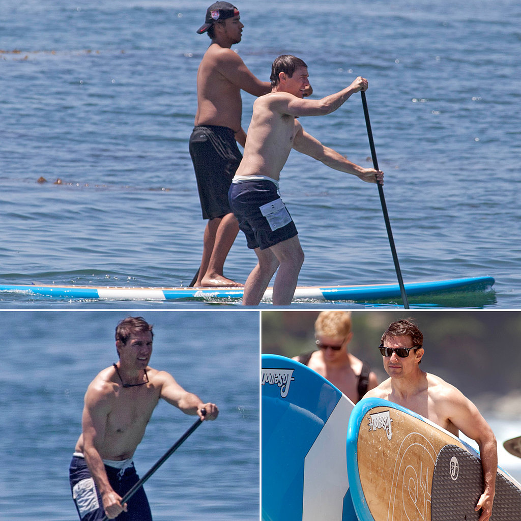 Tom Cruise's Shirtless Father's Day Adventure