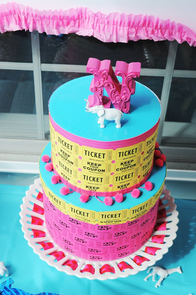 Ticket Cake