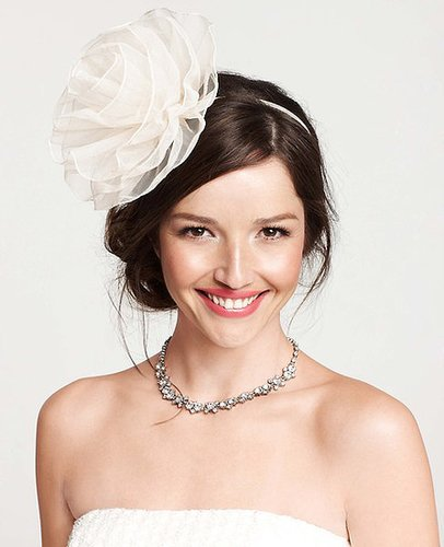 Magnolia Bloom Organza Headband