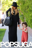 Rachel Zoe took her son Skyler for some shopping in LA on Thursday.