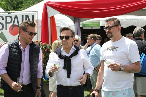 Tyler Florence, Daniel Boulud, and Chris Cosentino