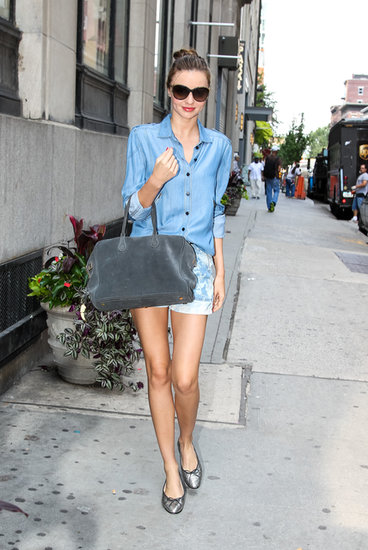 Miranda Kerr Shows Off Her Legs in NYC Amid Reports of a Big Business Change