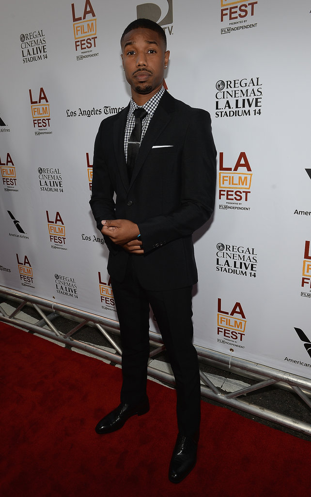 Michael B. Jordan stepped out for the premiere of Fruitvale Station.