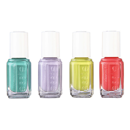The Essie 4-Piece Summer Collection ($17) comes with four mini bottles featuring colors from its Summer 2013 collection. You get a sparkling teal, soft purple, punchy lime, and glittering coral — all shades you'll wear over and over.