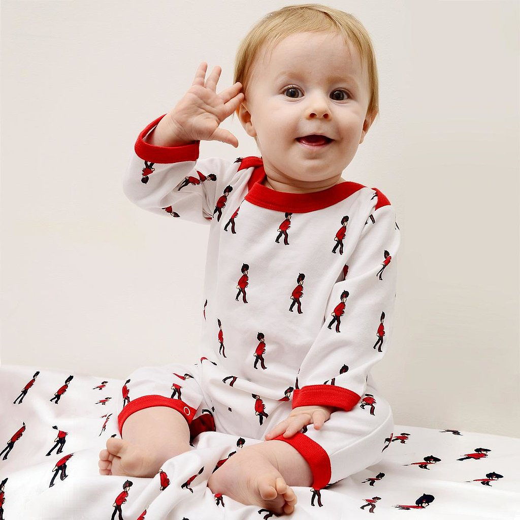 The royal baby can sleep in his or her very own Grenadier Guard Sleep Suit ($27) when dreaming of sitting on the royal throne!