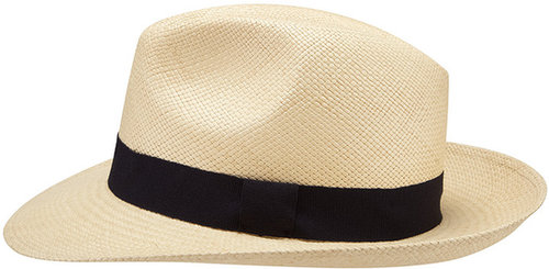 Viyella Natural Panama Hat