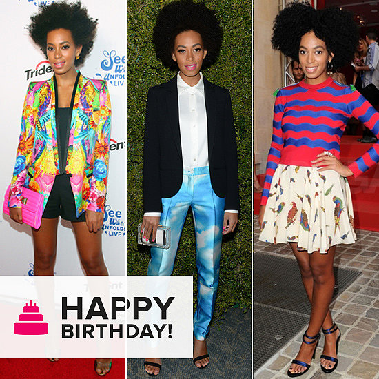 Take Bold, Colourful Styling Cues From Birthday Girl Solange Knowles